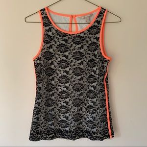 BANANA REPUBLIC Lace Tank Top (FREE WITH PURCHASE)